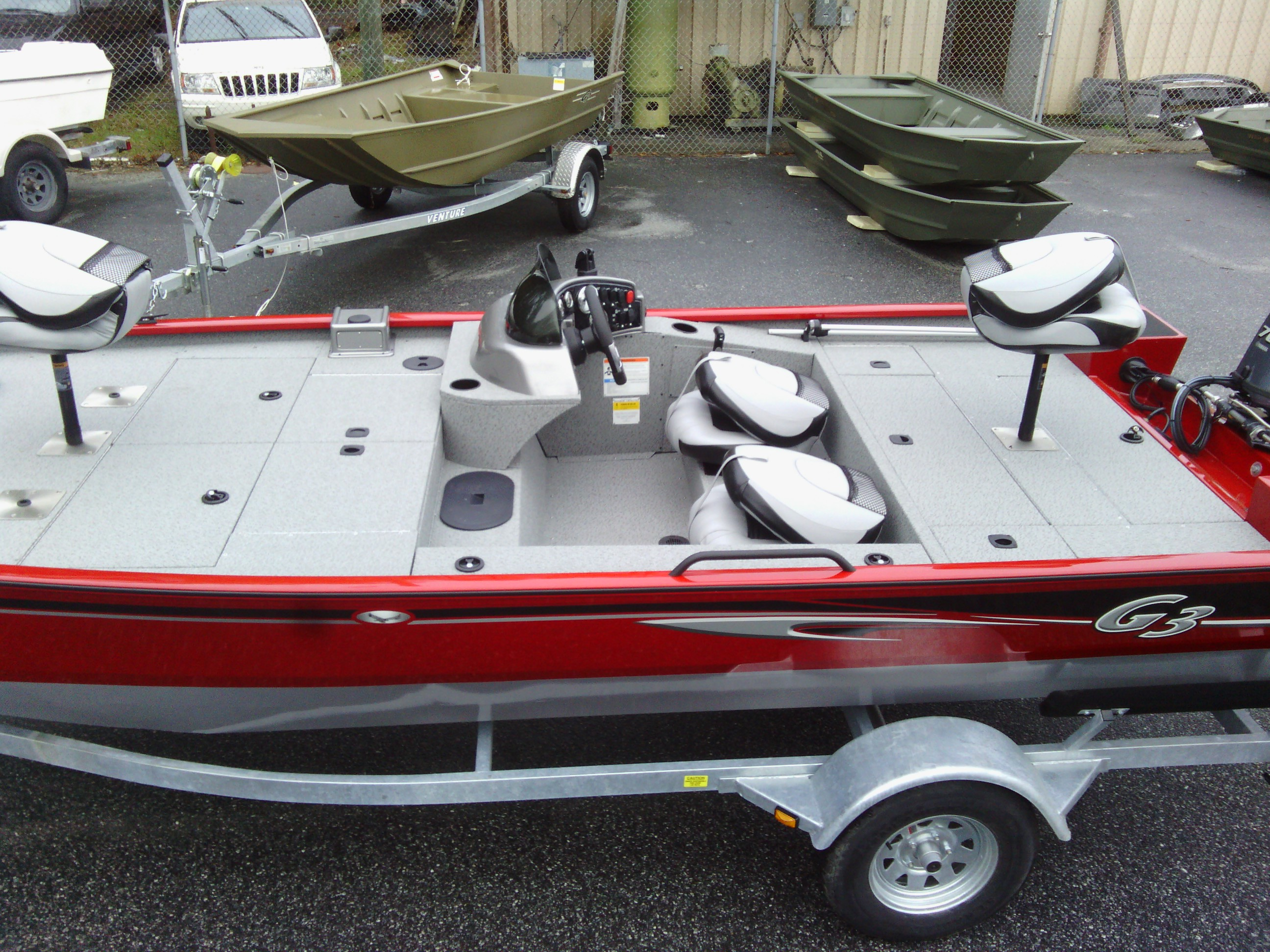 G3 Boats For Sale >> G3 Eagle176 Vinyl - Satilla Marine
