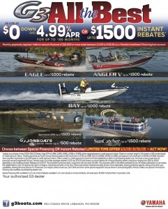 G3 Boats Spring Promo
