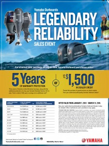 The Legendary Reliability Sales Event