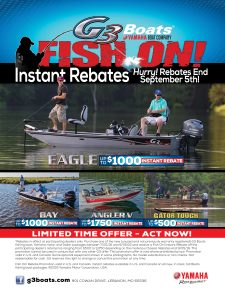 G3 Boats Fish On Rebates